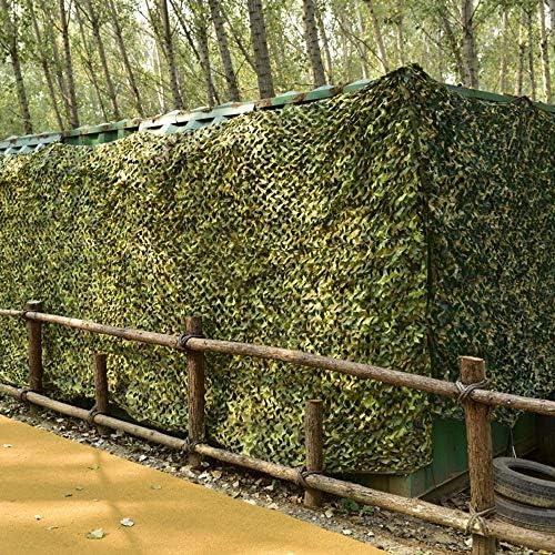 GSKC Camouflage Netz Jagd Tarnnetz Armee Tarnung Net Für Sonnenschutz Dekoration Camping Bundeswehr Woodland Waldlandschaft Garten Outdoor Sichtschutz