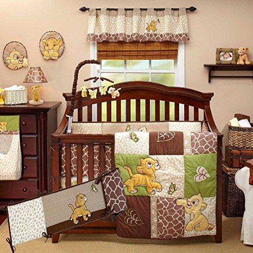 Disney Lion King Go Wild 8 Piece Crib Bedding Bundle W bu...