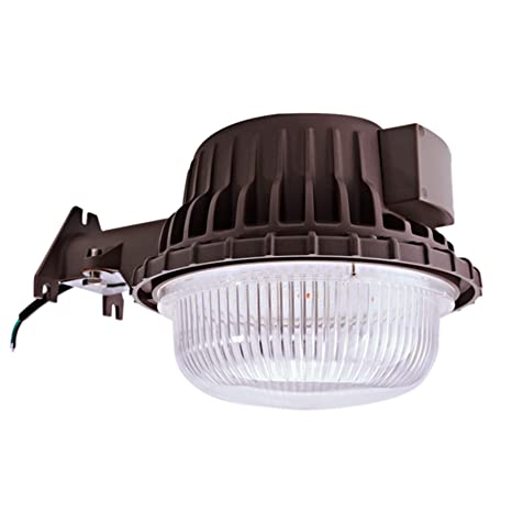 bobcat 80 watt dusk to dawn barn light led outdoor yard light with rh amazon com