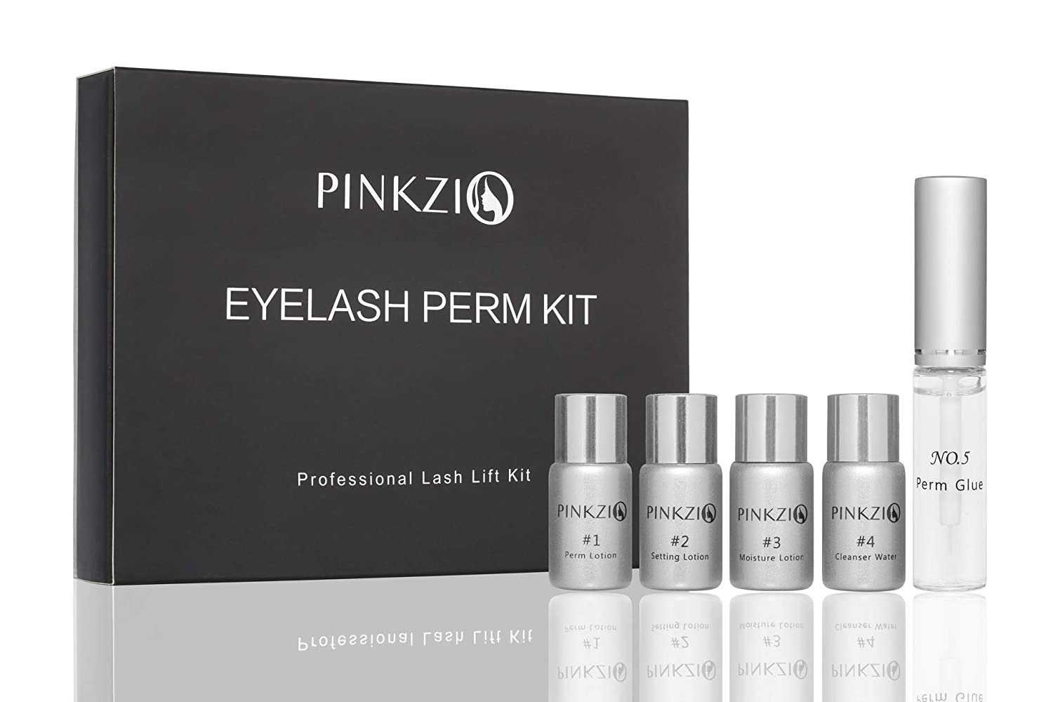 7ad7c100278 Amazon.com : Pinkzio Eyelash Perm Kit Full lash Lift Kit For Professional  Use, Salon Lash lift Eyelash Perming kit (PK68) : Beauty