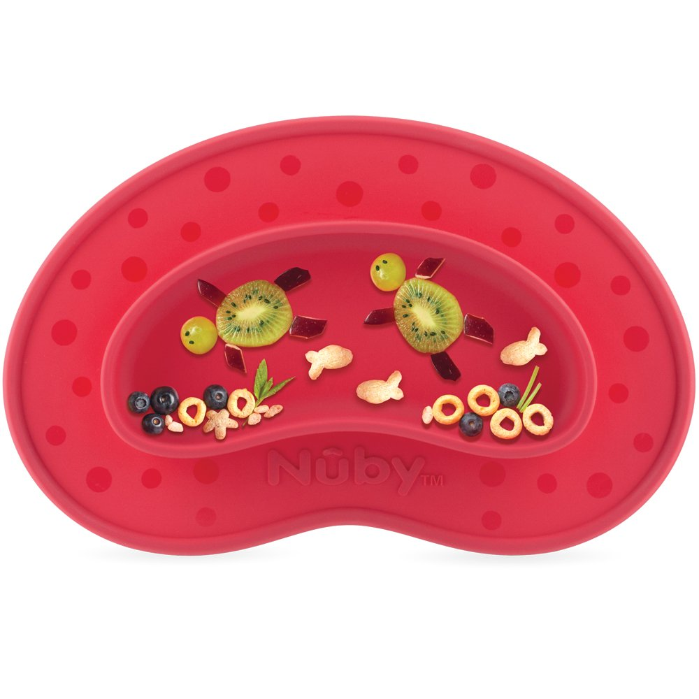 Nuby UK Sure Grip Miracle Plate Assorted Colours