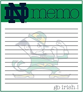 The Fanatic Group Notre Dame Fighting Irish Memo Note Pad - 2 Pads