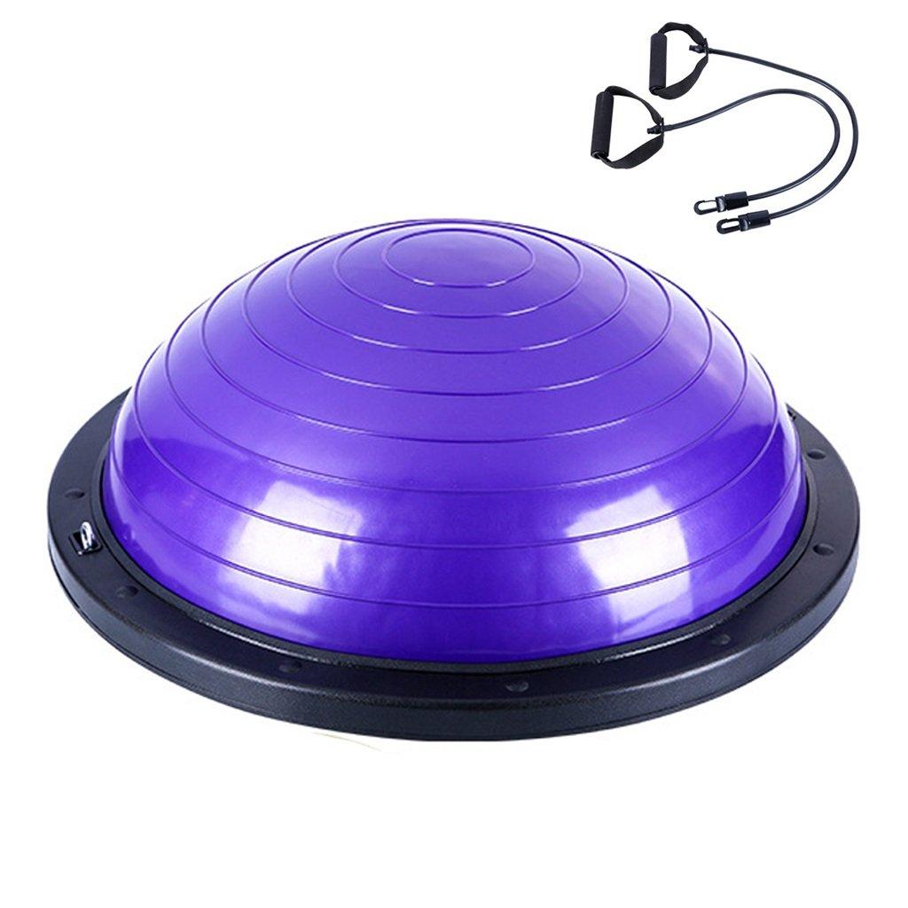 Gbf Halbkreisförmiger Balancenball explosionssicherer Yogaball/Eignungsball Rutschfester Gewichtsverlusteignungsball der Sicherheit Starker gymnastischer Ball Bodybuilding Formend
