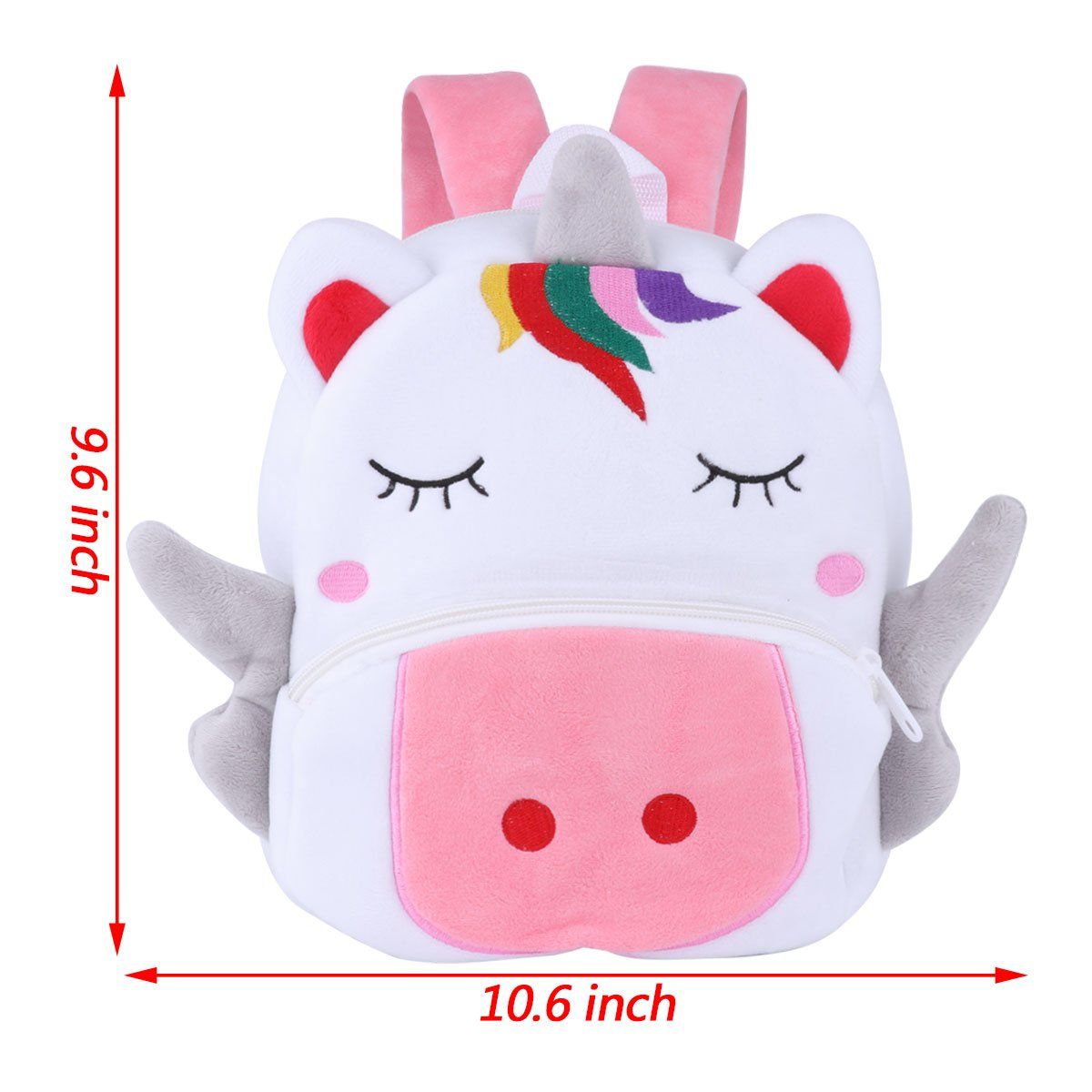 Amazon.com | Toddler Preschool Backpack Plush Animal Cartoon Backpack Baby Kids School Satchel Travel Lunch Bags | Kids Backpacks