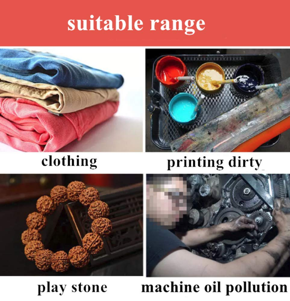 YJINGRUI 40W Electric Textile Spot Cleaning Spray Gun Fabric Washer Water Gun Screen Printing Gun High Pressure Gun 1.2 L Capacity (110V) by YJINGRUI (Image #6)
