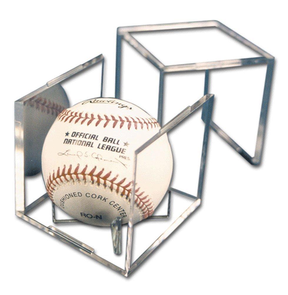 Baseball, Cricket Ball or Tennis Ball Display Cube with UV coating BallQube
