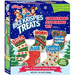 Crafty Cooking Kits Kellogg's Rice Krispies Treats Christmas Stocking, 10.18 Ounce