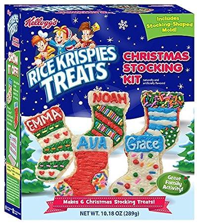 crafty cooking kits kelloggs rice krispies treats christmas stocking 1018 ounce - Christmas Stocking Kits