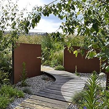 300/15/80 cm en acier Corten murale Paysage Fonction/jardin Panneau ...