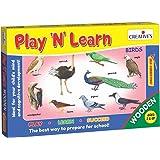 Creative's Play 'N' Learn - Birds, Multi Color