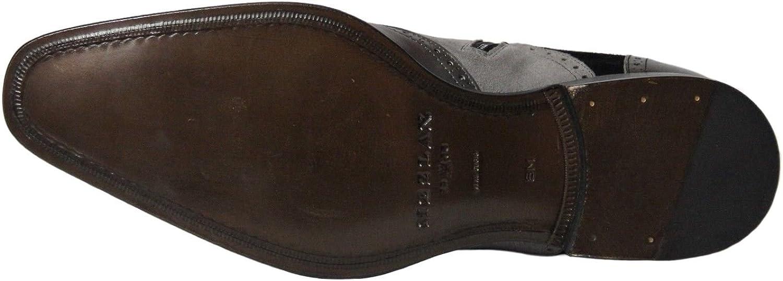 Oxford Wing Tip Boots Mezlan Mens Cerezo Grey//Black