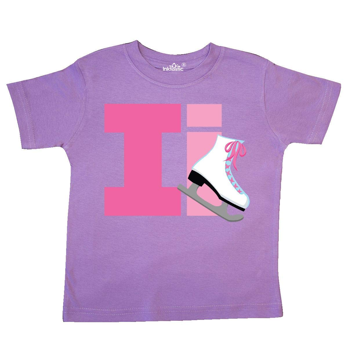 inktastic Ice Skating Letter I Toddler T-Shirt
