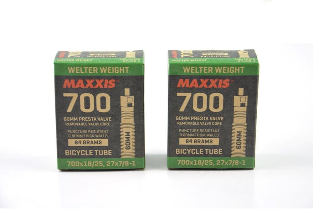 Maxxis Ultralight Presta Tube Black 650 x 18//25 c