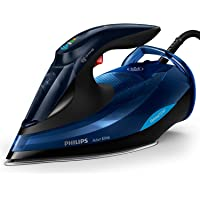 Philips Azur Elite Steam Iron with OptimalTEMP Technology, 240g Steam Boost & Safety Automatic Shut-Off, 2400W, Black…