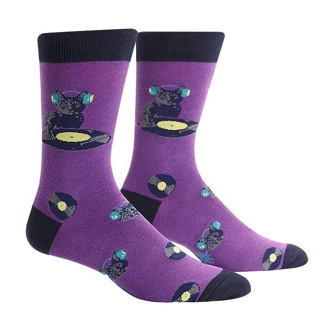 Sock It To Me Calcetines de la Garra del Gato, Calcetines DJ Gato para Hombres Un tamaño: Amazon.es: Ropa y accesorios
