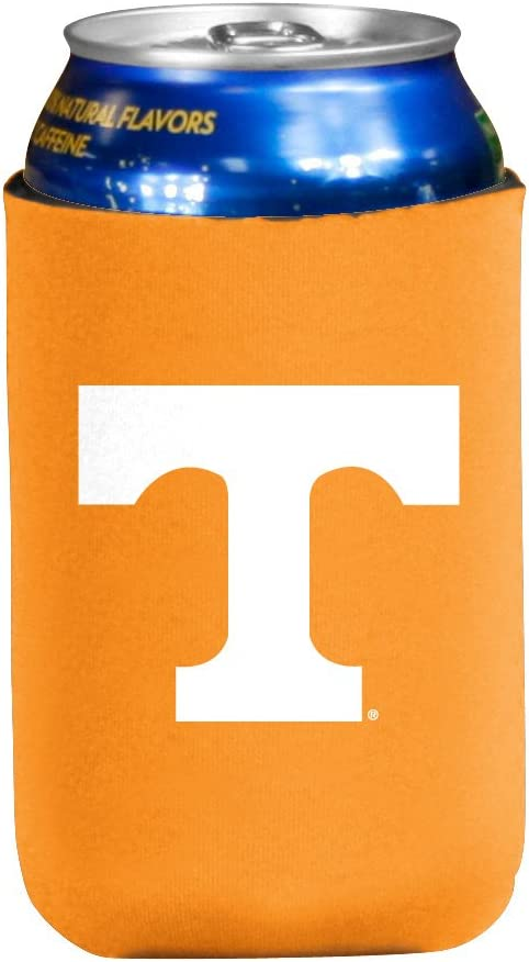 Logo Brands Officially Licensed NCAA Unisex Flat Coozie, One Size, Team Color