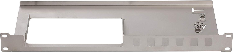 grabbeIT Stainless Steel AVM Fritzbox 19 Rack Halterung 6591 Cable Keystone