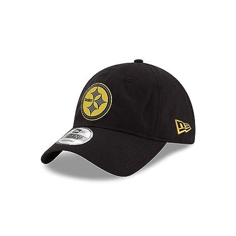 Amazon.com   Pittsburgh Steelers Black and Gold 9TWENTY Adjustable ... bc8ec13a295