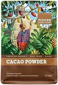 Power Superfoods Organic Cacao Powder, 500g