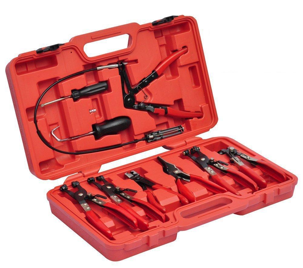 HG® 11tlg mini-colliers de serrage Pince Colliers Pince Colliers Kit de pinces colliers de serrage huigou
