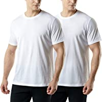 TSLA 1 or 2 Pack Men's Short Sleeve T-Shirts, Moisture Wicking Performance Workout Shirts, Dry Fit Running Athletic…