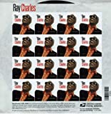 Ray Charles Full Sheet of 16 Forever Stamps Scott 4807