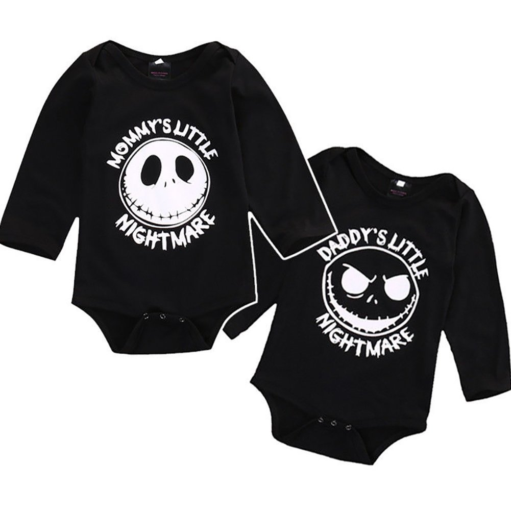 Newborn Infant Baby Boys Girls Long Sleeve Romper Jumpsuit Halloween Outfit minishop659
