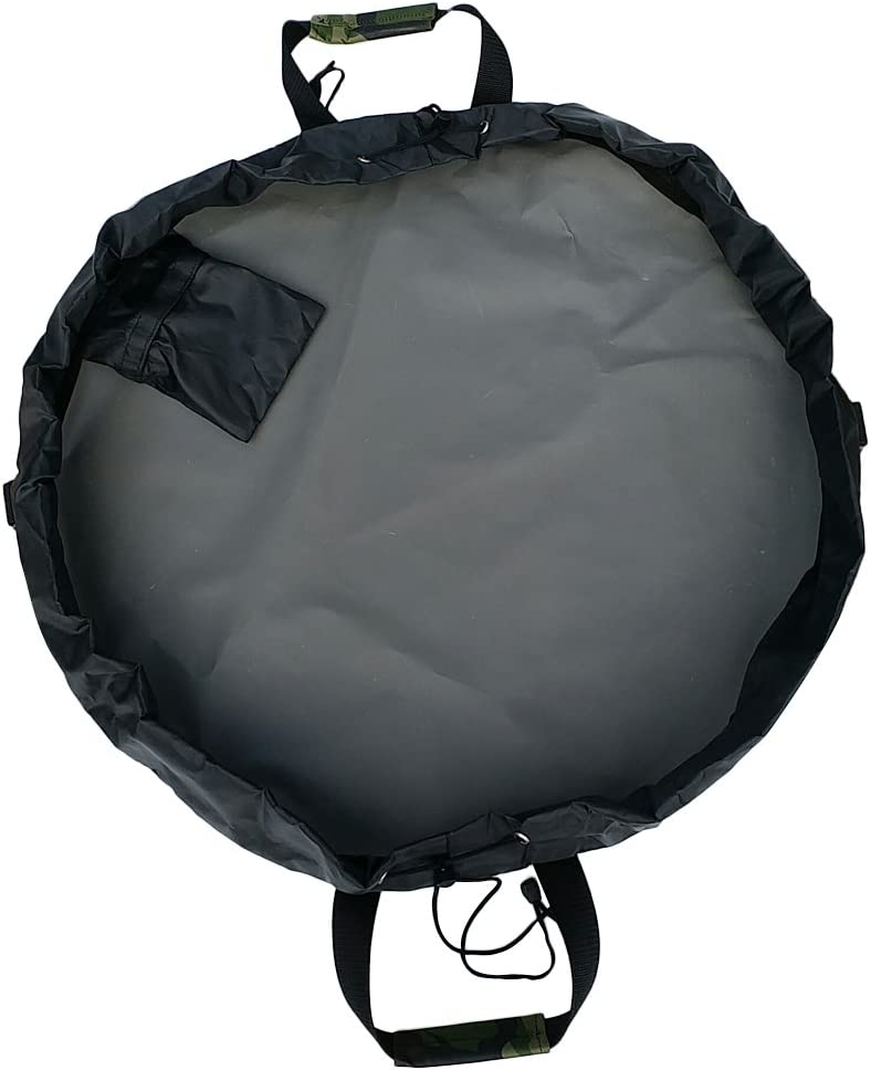 XINNI 35 Inch Surf Swim Wetsuit Changing Mat Waterproof Dry Bag Beach Wet Swimsuit Storage Drawstring Mat Cinch Bag Portable