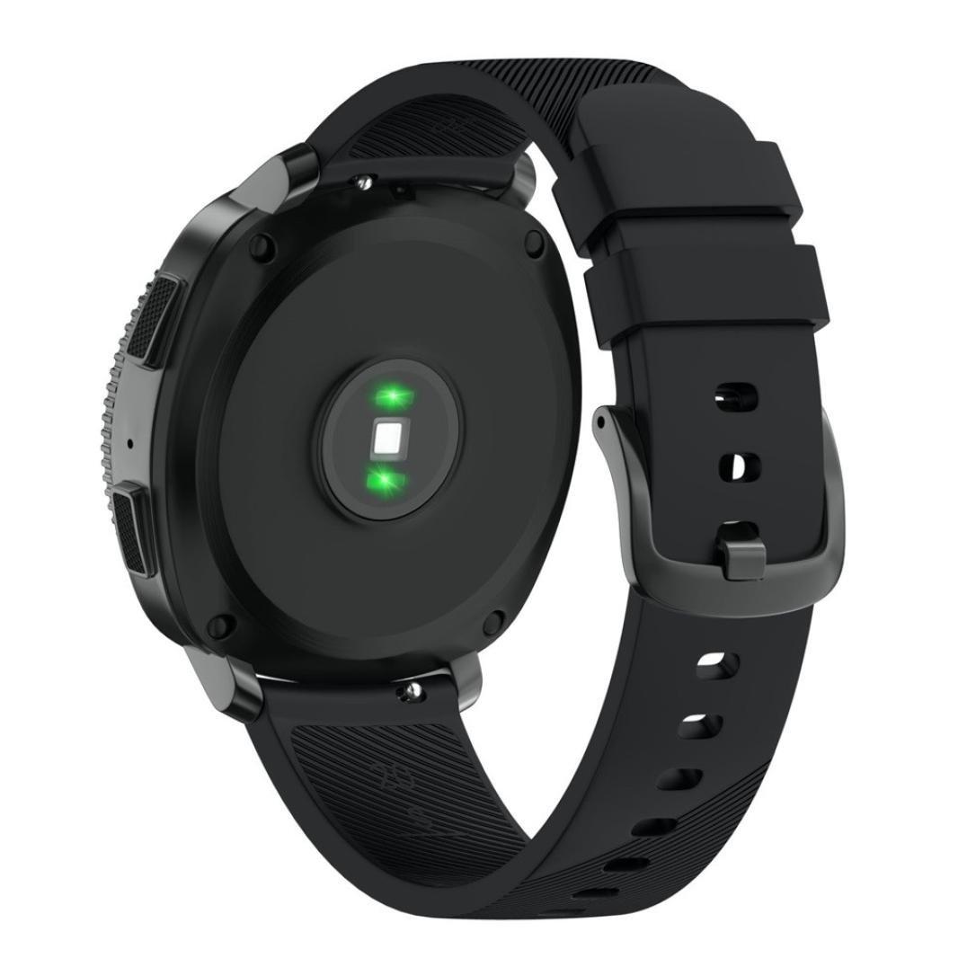 becolerスマート時計バンド交換用for Samsung Gearスポーツ As show ブラック ブラック ブラック B0795LZXRH