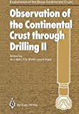 Observation of the Continental Crust Through Drilling II, , 3642456189