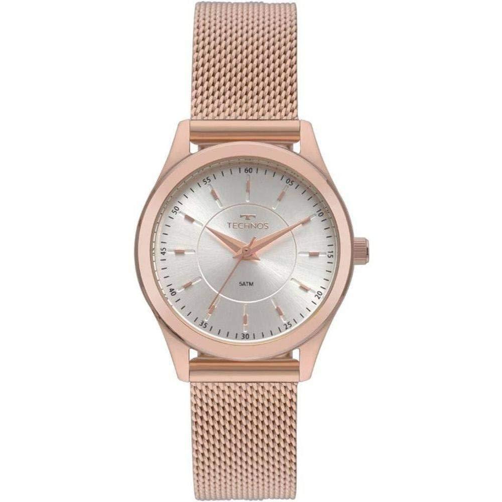 e03fce93a28 Relógio Feminino Technos Elegance Rosé 2035mnv 4k  Amazon.com.br  Amazon  Moda