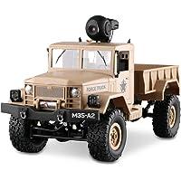 LBLA 1:16 RC Camión Militar Off-Road Racing Vehículo