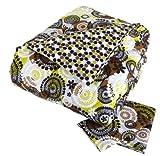 Vera Bradley Reversible Comforter Set Full/Queen Cocoa Moss