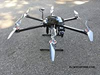 4K UHD Hexacopter Drone/UAV with AutoPilot by FlyByCopters