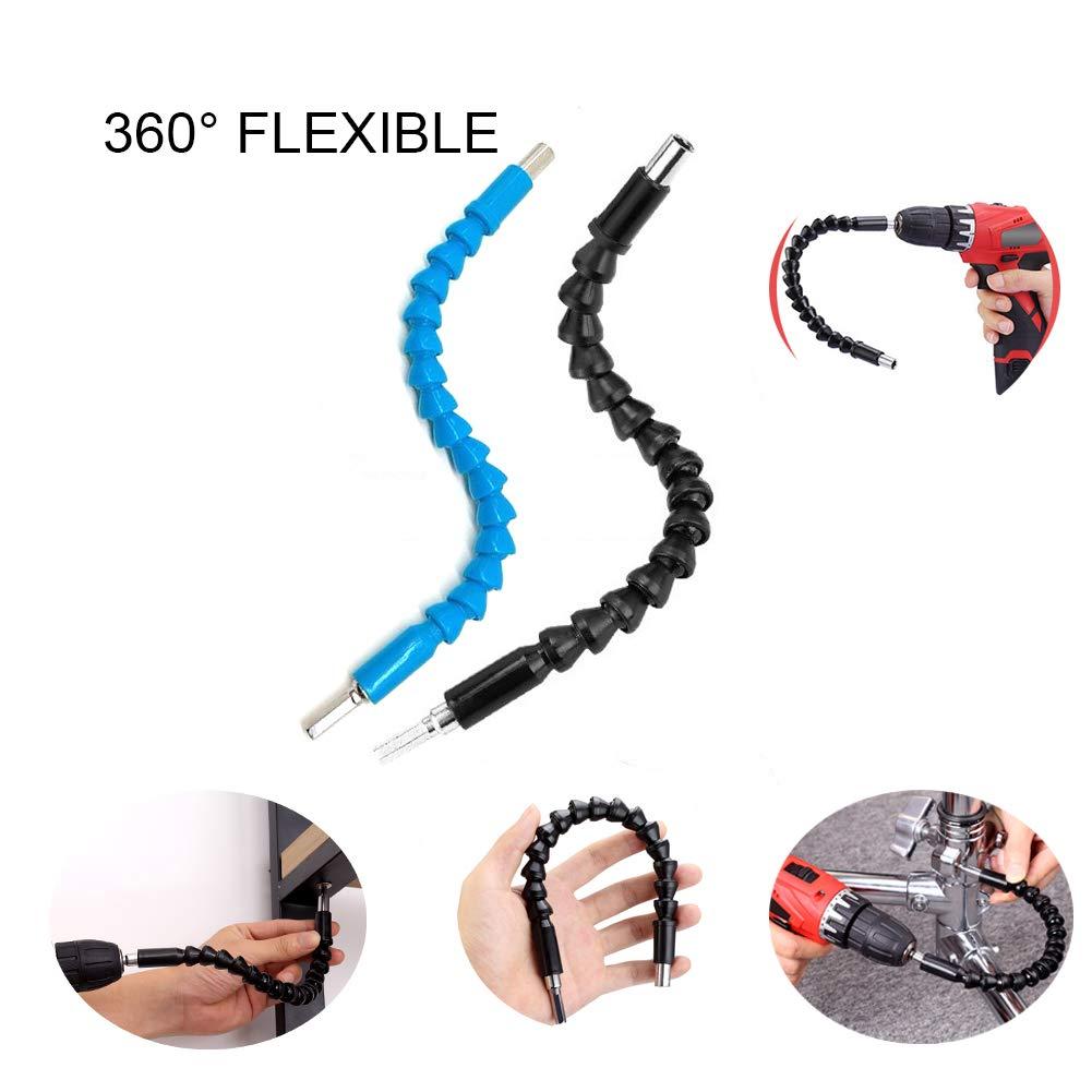 Blue Flexible Drill Bit Extention Screwdriver