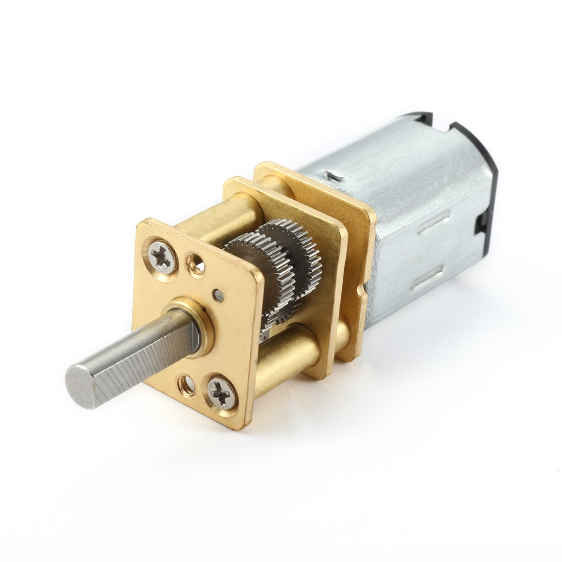 uxcell DC 6V 70RPM Micro Speed Reduction Motor Mini Gear Box Motor with 2 Terminals for RC Car Robot Model DIY Engine Toy