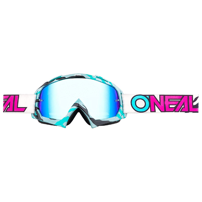 O'Neal B-10 Goggle Stream Crossbrille Radium Motocross DH Downhill MX Anti-Fog Glas, 6024-41 Farbe Petrol O' Neal