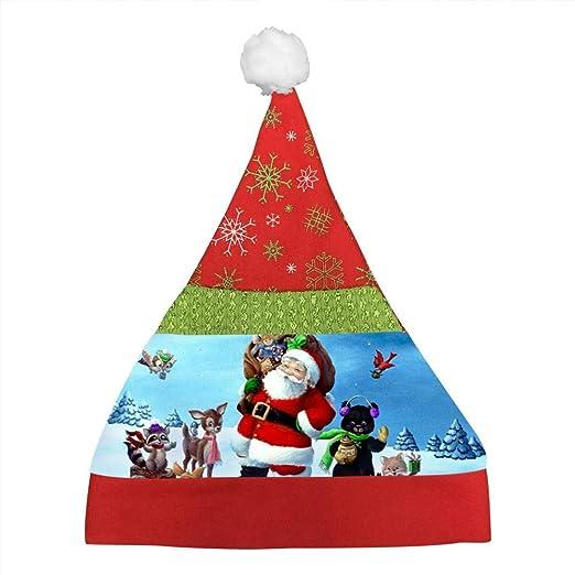 Father Christmas Cartoon Images.Amazon Com Ihjutp Father Christmas Printed Cartoon
