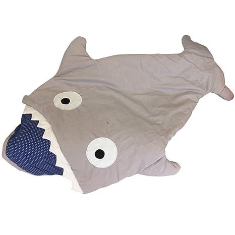 Ti tiburón saco de dormir para niños