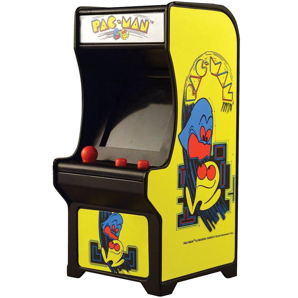 Super Impulse Pac-Man Classic Tiny Arcade Game - Palm Size w/ Authentic Sounds & Joystick