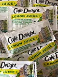50 Pack Lemon Juice Packets, 4g each