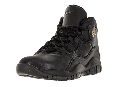 free shipping 067da 289d0 Nike Jordan Kids Jordan 10 Retro Bp Black Black Drk Grey Mtllc Gld