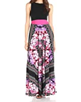 Roiii New Plus Size 8-24 Ladies Summer Party Evening Sleeveless Long Maxi Dress