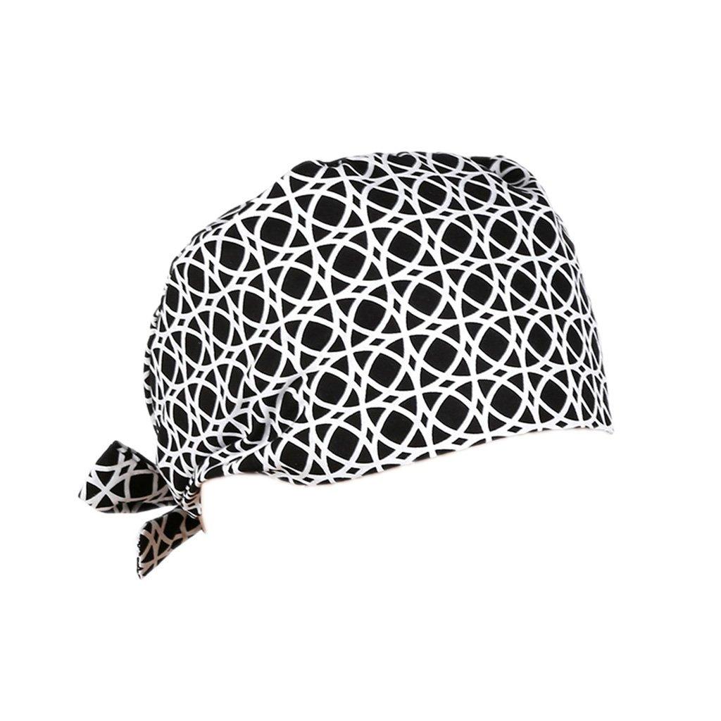 Magideal Cappello Pizzo Cappellini da Chirurgico per Infermieri Medico Taglia uncia