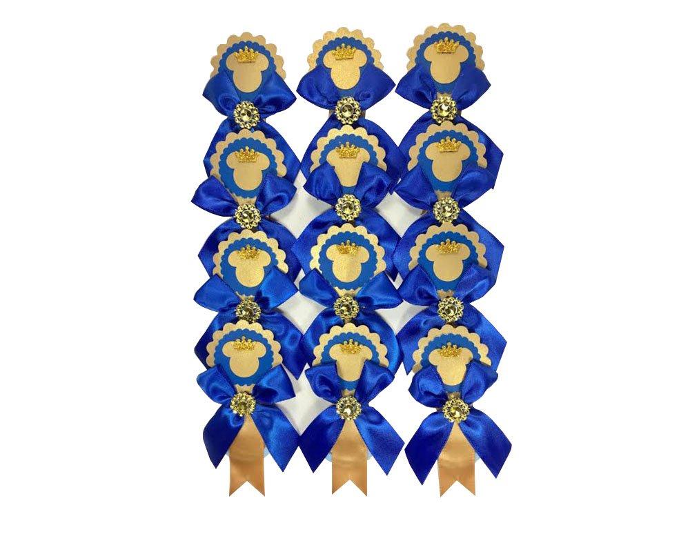 Amazon.com: 12 Deluxe Royal azul Principito Mickey Mouse ...