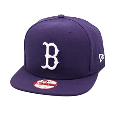 f71e931786293 Boné New Era Snapback Original Fit Boston Red Sox Roxo - MLB: Amazon ...