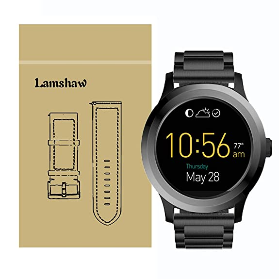 Amazon.com: Smartwatch Band for Fossil Q Founder Gen 1 / Gen ...