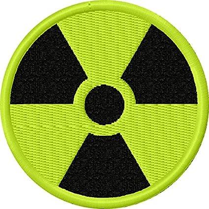 Amazon Gamma Radiation Radioactive Symbol Patch Embroidered