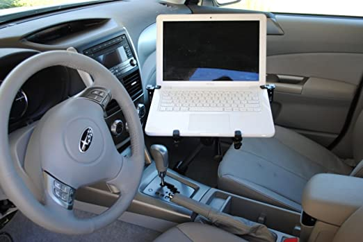 Mobotron Vehicle Laptop Mount + Screen Stabilizer+ Cooling Fan+ Supporting Brace