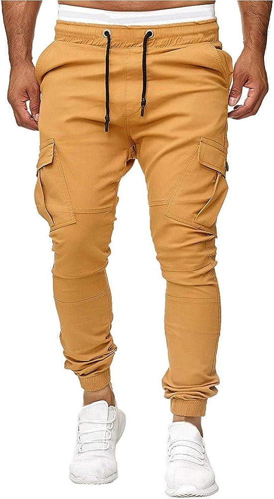 VPASS Pantalones para Hombre, Pantalones Color sólido Moda Pop ...